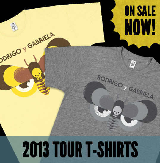 Tour T-Shirts Sale!